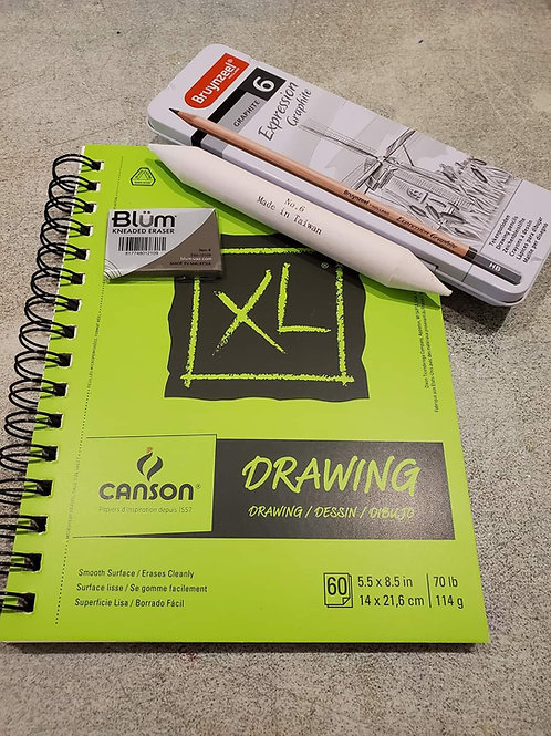 Starter Drawing Kit