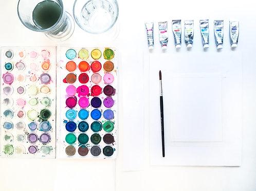 Watercolour Mixed Media Creative Kit