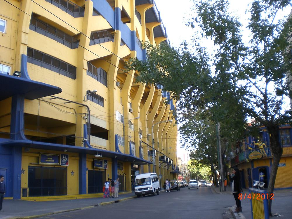 Tango Berlin: Stadion in La Boca