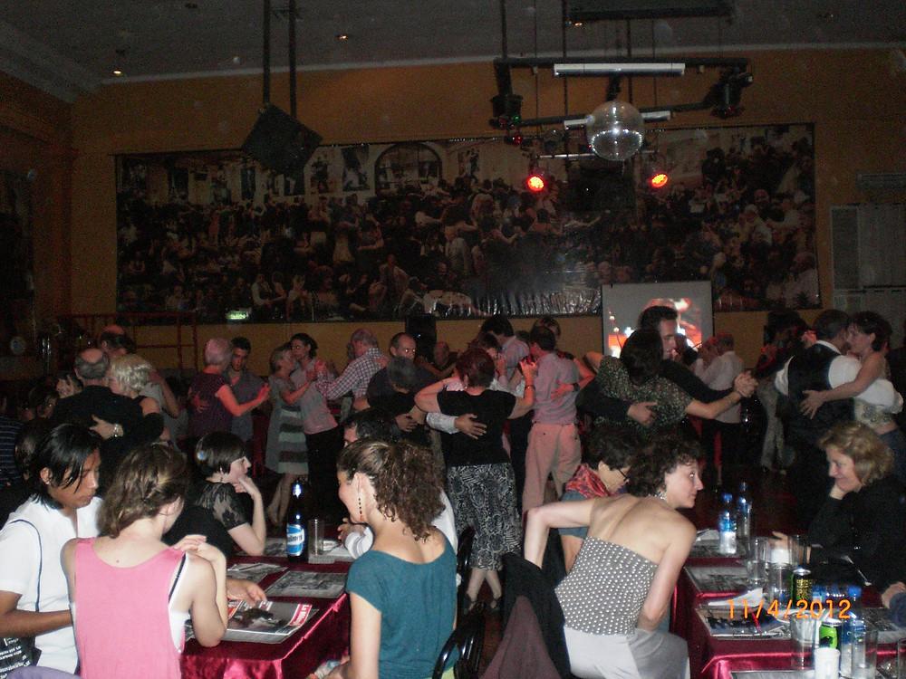 Tango Privatunerricht für Tango Milonguero