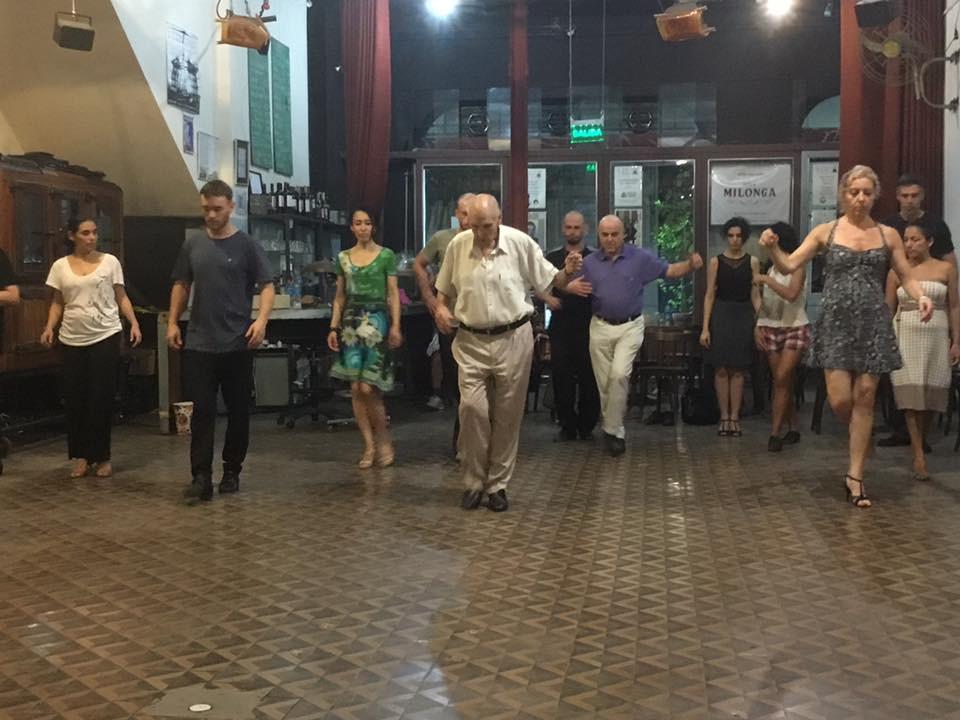 Tango Privatunterricht und Kurse - nie ohne Technikübungen
