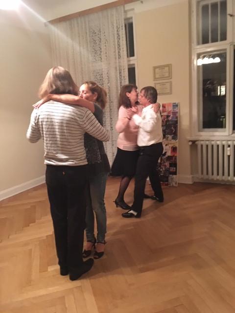Tango lernen in einem Tangokurs