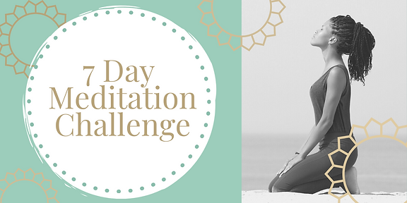 Solution Focused Studio 7 Day Meditation Challenge