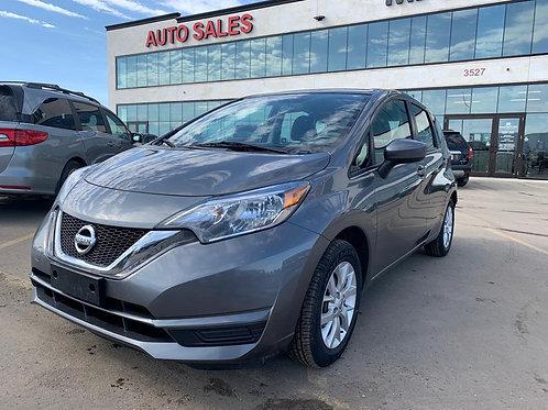2018 Nissan Versa Note SV 1.6L BACK UP CAMERA/HEATED SEATS 69,848 KM