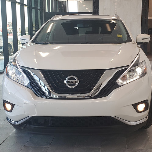 2017 NISSAN MURANO PLATINUM/Panoramic Roof/ Leather/Nav/ 49,224KM