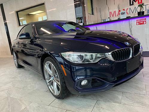 2014 BMW 4 Series 428i AWD Xdrive 109,876KM