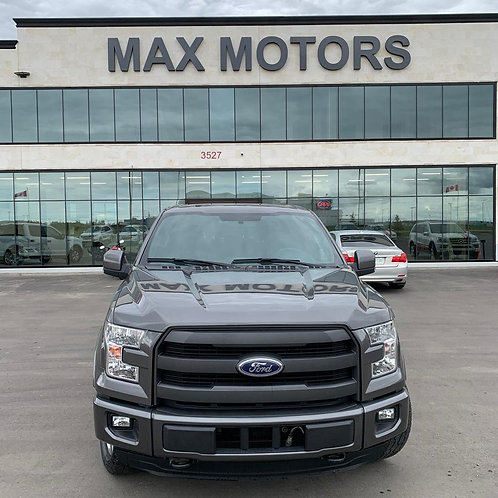 2015 Ford F-150 Lariat 5.0 PANORAMIC ROOF/LEATHER/BACK UP CAMERA 81,129 KM