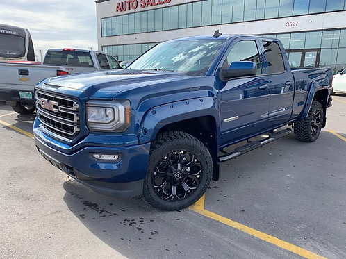 2019  GMC SIERRA LIMITED 1500 5.3L  6 SEATS/TOW PACKAGE/REAR CAMERA ONLY 5018 KM
