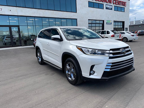 2018 Toyota Highlander Limited AWD PANORAMIC ROOF/BROWN LEATHER 34,391KM