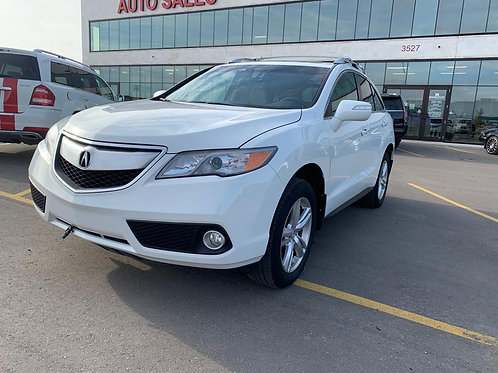 2014 Acura RDX 3.5L w/REAR CAMERA/HEATED SEATS/SUNROOF  ONLY 71,049 KMS