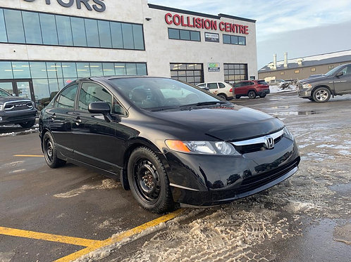 2007 Honda Civic LX 1.8L MANUAL Trans 5 Speed w/REMOTE START    ONLY 102,359 KMS
