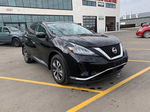 2019 NISSAN MURANO SV 3.5L AWD  PANORAMIC SUNROOF/BACK UP CAMERA   38,707 KM