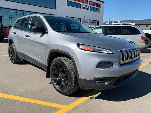 2015 Jeep Cherokee Sport 3.2L V6 AWD w/BACK UP CAMERA/HEATED STEERING WHEEL