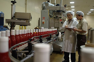 Part of WN Foods production team in action