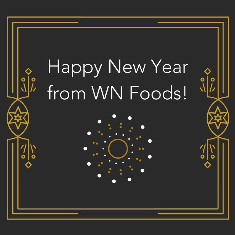 Happy New Year 2018 from WN Foods