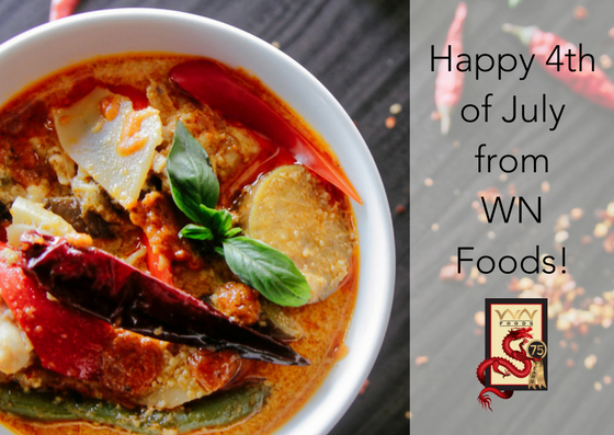 Happy 4th of July from WN Foods!