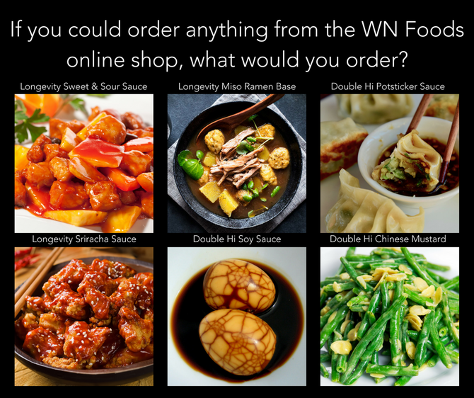 What would you order from the WN Foods online shop?