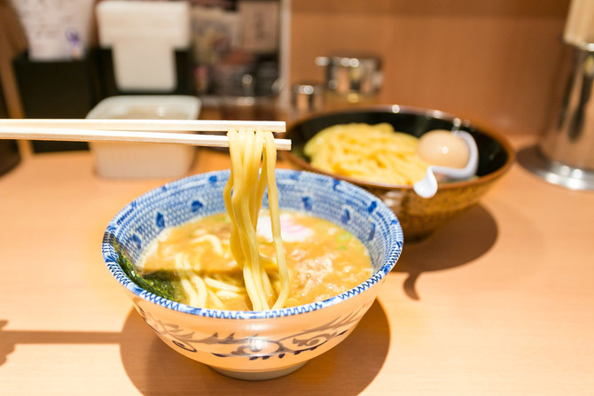Tsukemen in Summer