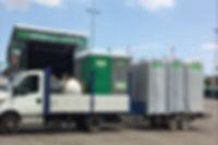 Alquiler de WC portátiles en Almería, Murcia y Alicante