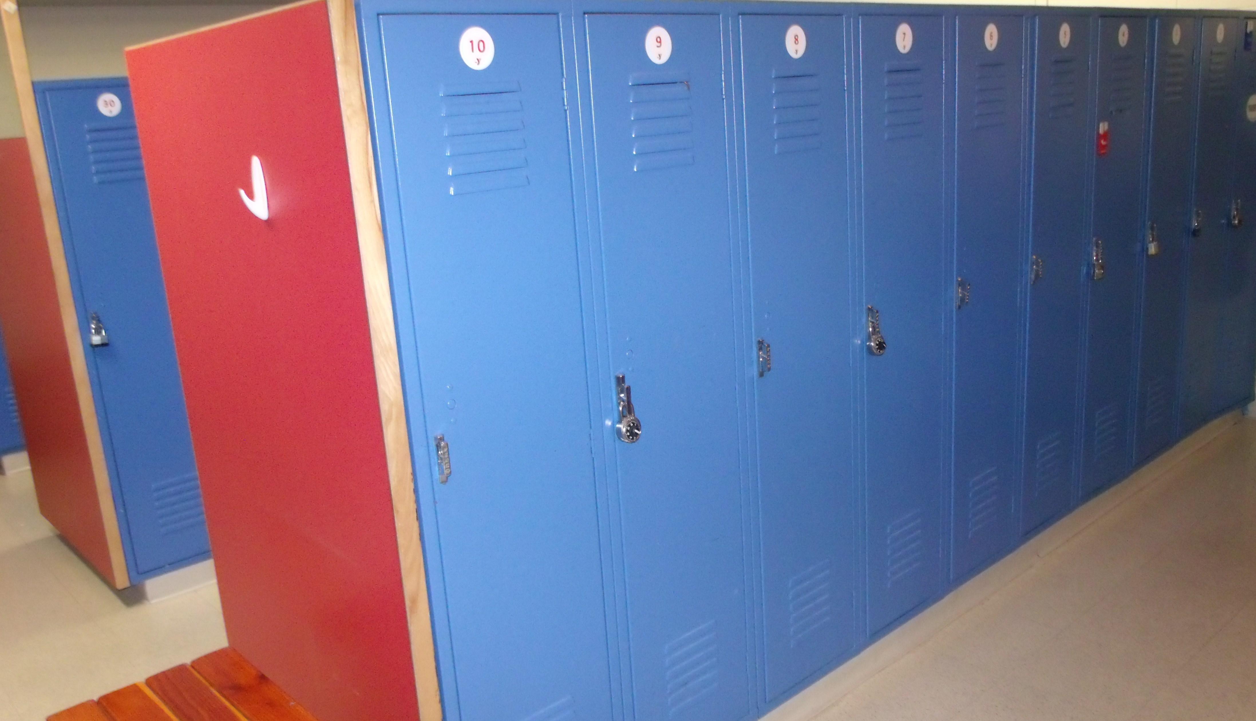 Spfld, MA YMCA locker room 1