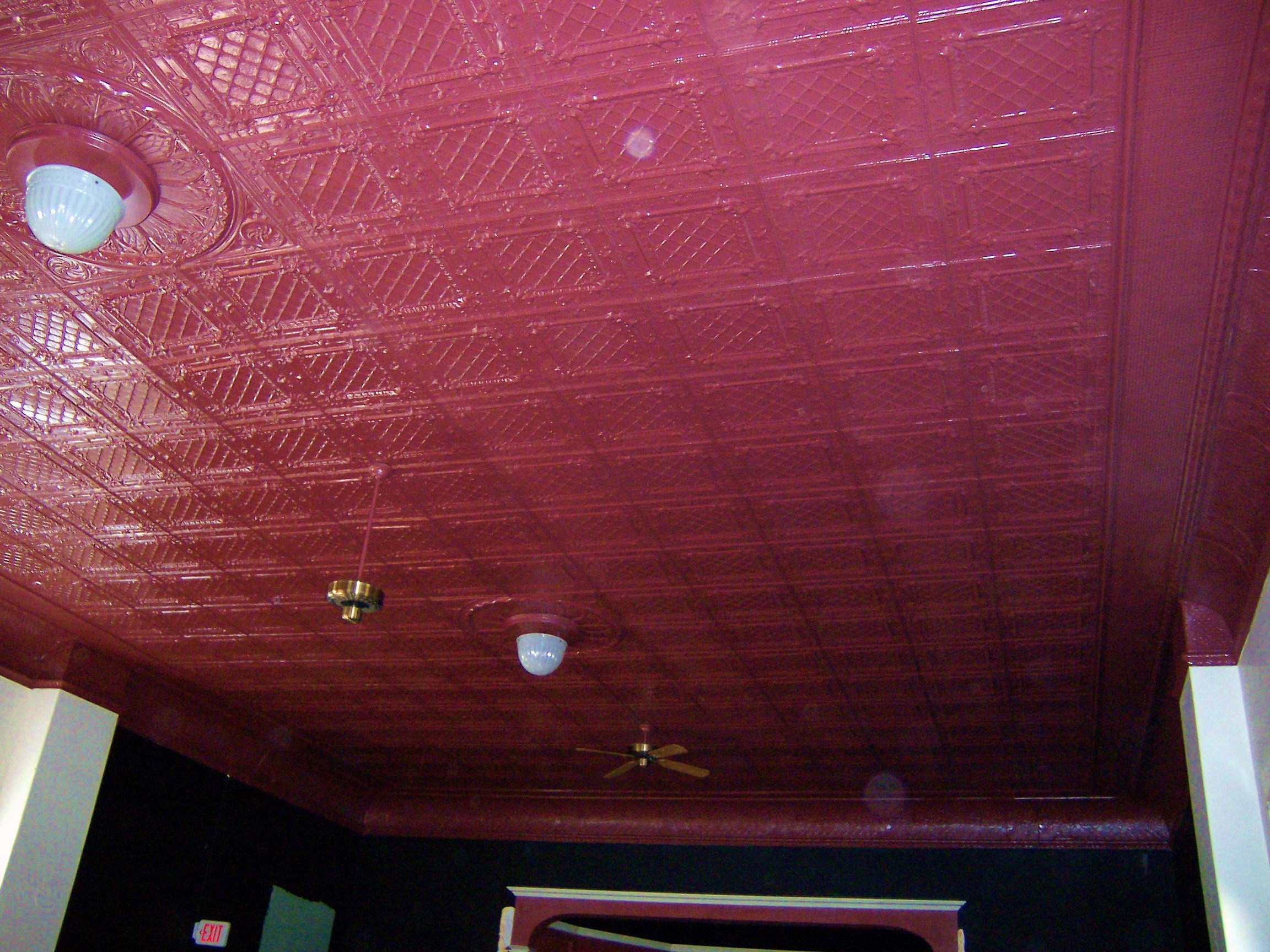 Main Ceiling after  photo 1