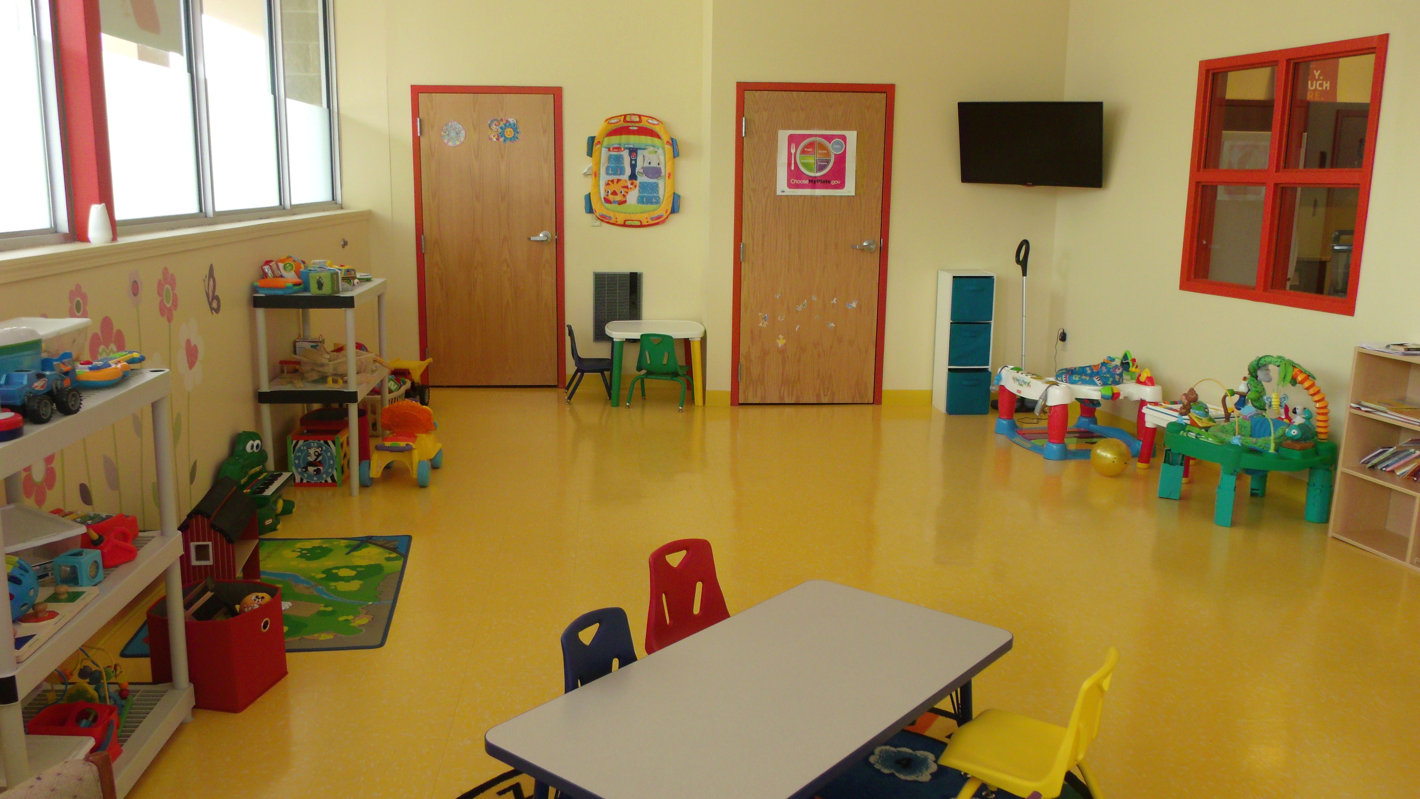 Agawam, MA YMCA play room