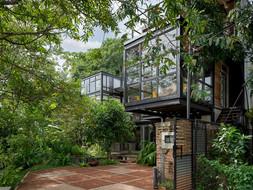 Steel Frame Tropical ใครว่าโครงเหล็กจะให้บรรยากาศชุ่มชื้นไม่ได้ I Kozy's Canvas