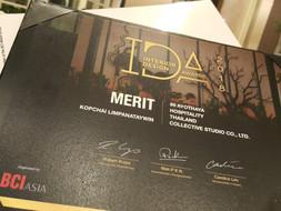 BCI ASIA AWARDS 2018, INTERIOR DESIGN Award [merit Hospitality]