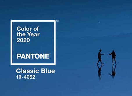 Pantone 2020 : classic blue