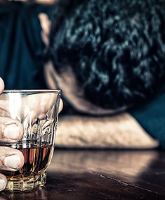 A man whom is Alcoholic | Problem Drinker