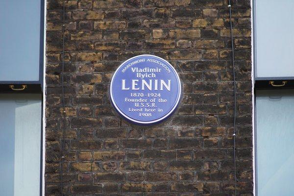 Lenin lived in London!