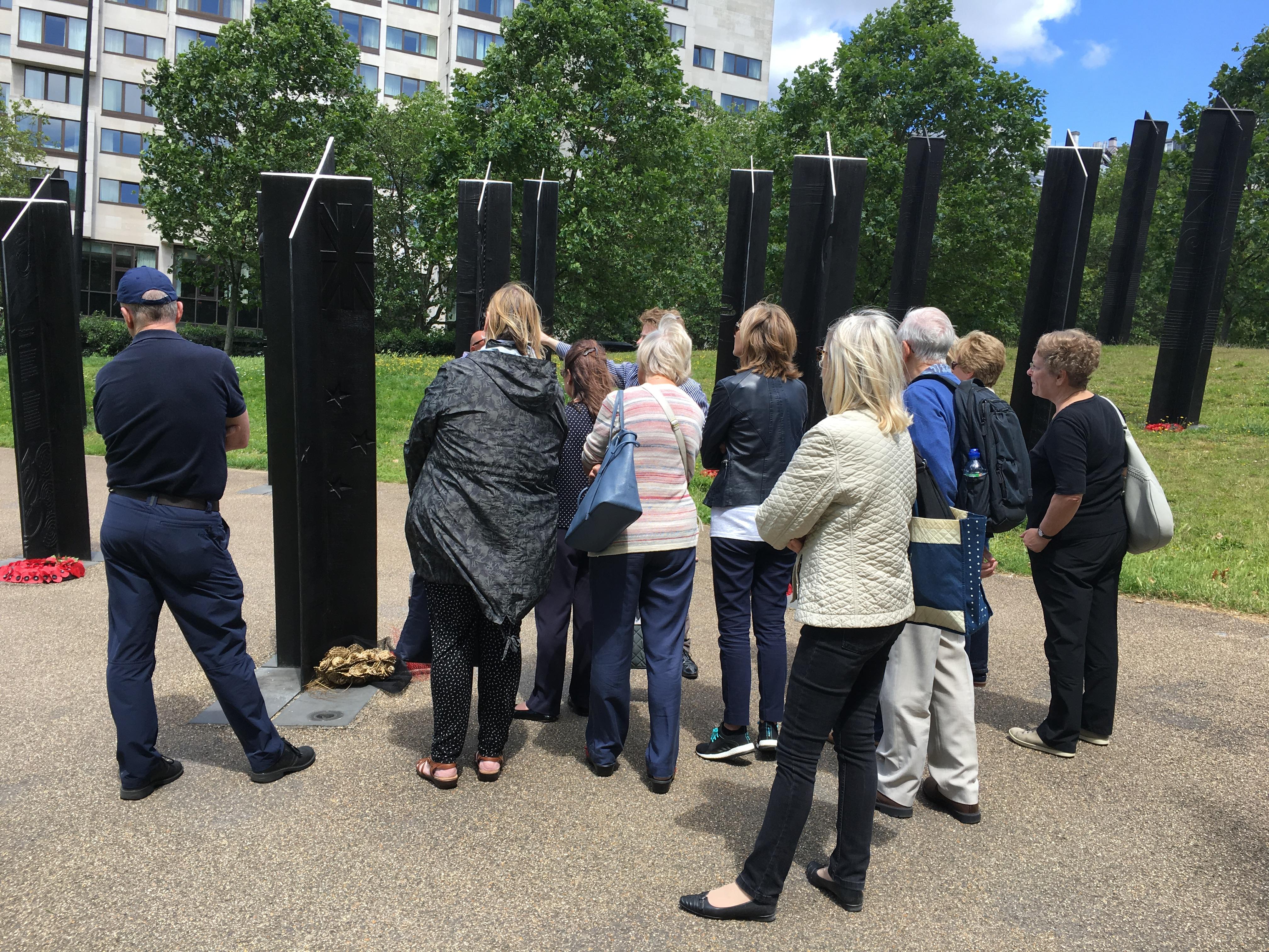 War memorials walk