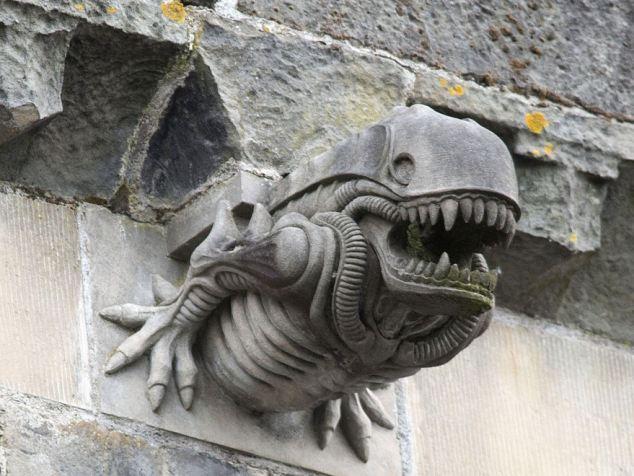 Gargoyle straight from 'Aliens'