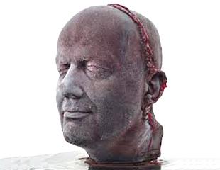Frozen Blood Self Portrait