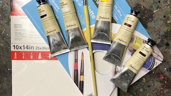 Painting Kit (suitable for 'Appreciating the Work in Artworks')