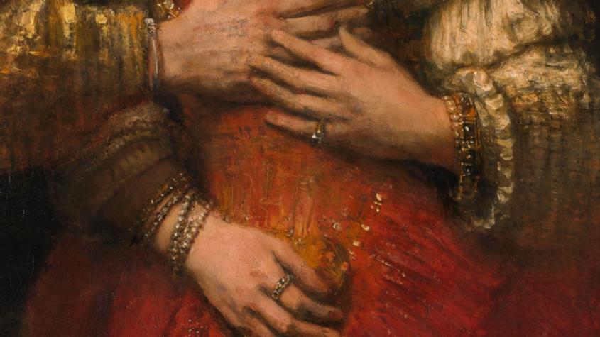 DIY Bracelet making kit, inspired by Rembrandt's Jewish Bride