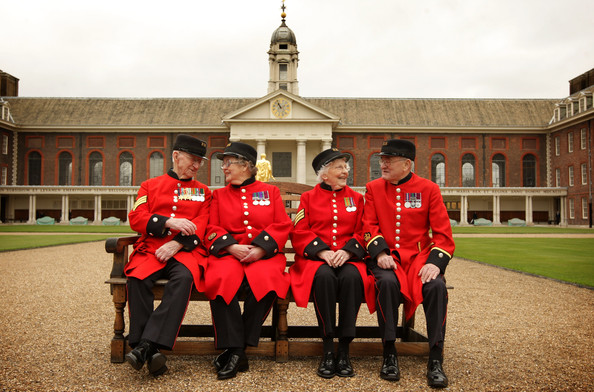 Chelsea Pensioners @ Royal Hospital