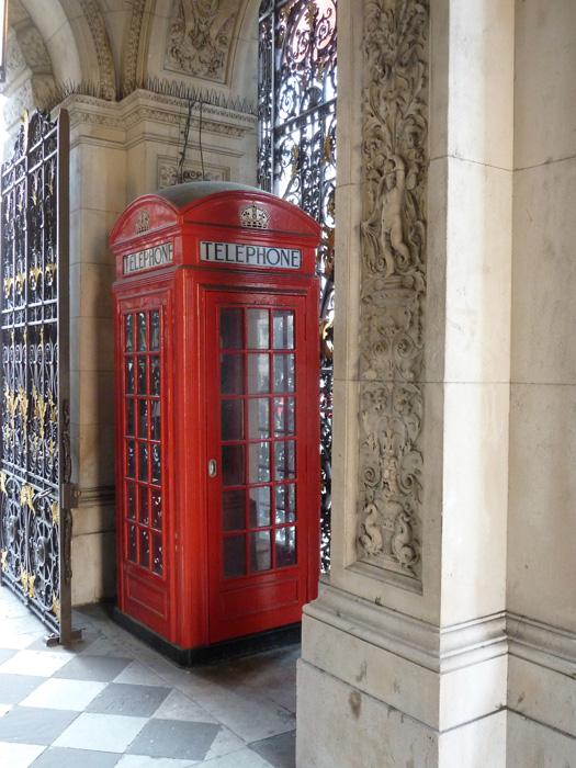 Prototype 1st telephone box
