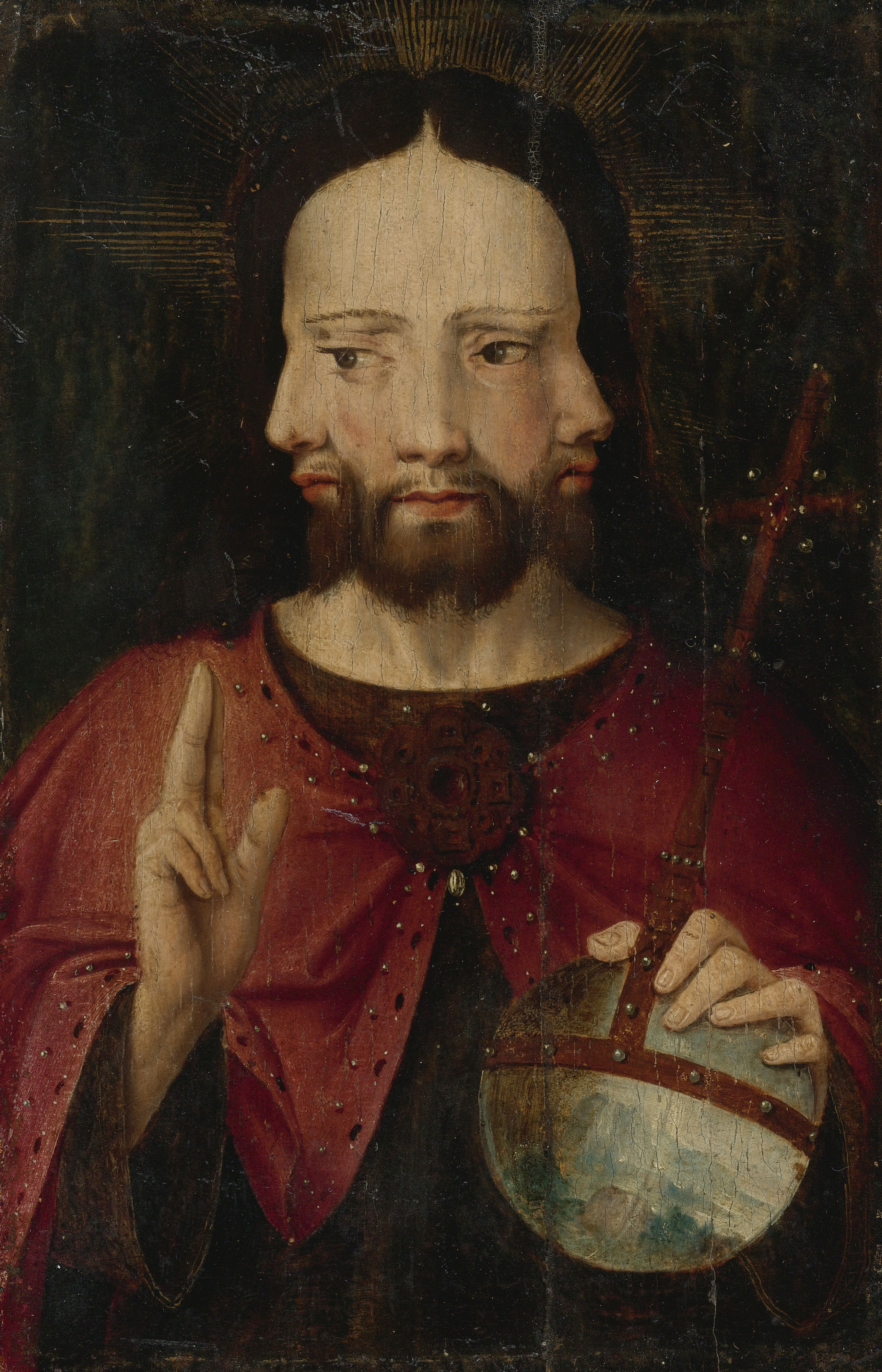 Christ with three faces
