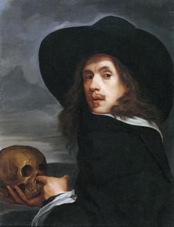 Poking a skull