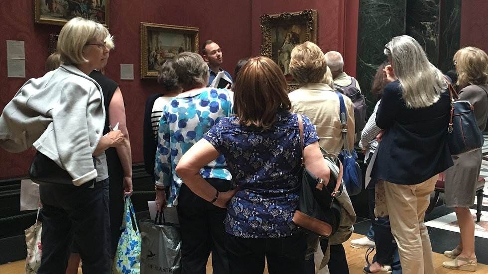 Private Guided Tours at London Museums