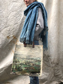Real painting bag