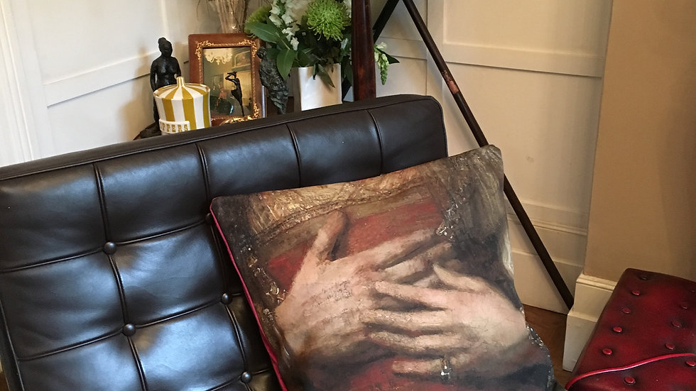 Cushion with detail of Painting by Rembrandt