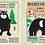 Thumbnail: Nursery Times Crinkly Newspaper - Animals Black Print