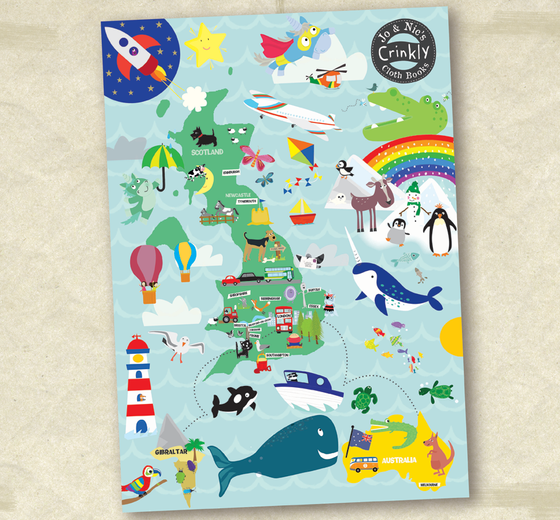 We have 29 stockists! Who will be our 30th? If you are you will recieve one of our super 'Crinkl