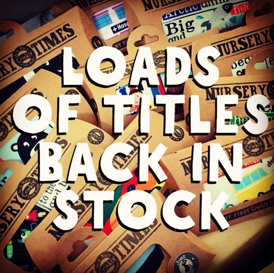 LOADS OF TITLES BACK IN stock