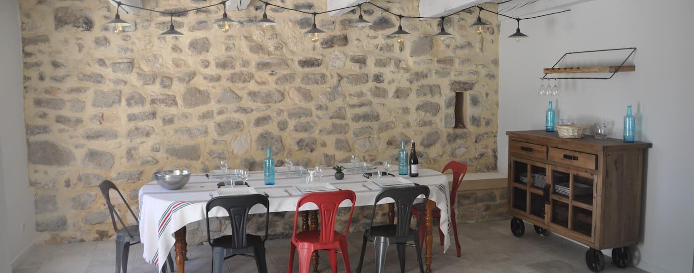 Gîte salle à manger