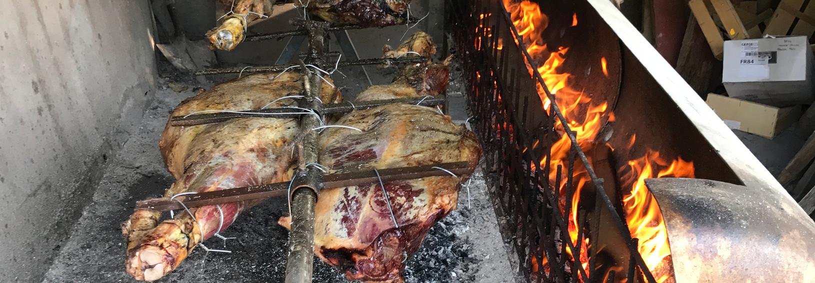 Pieces de taureau grillés