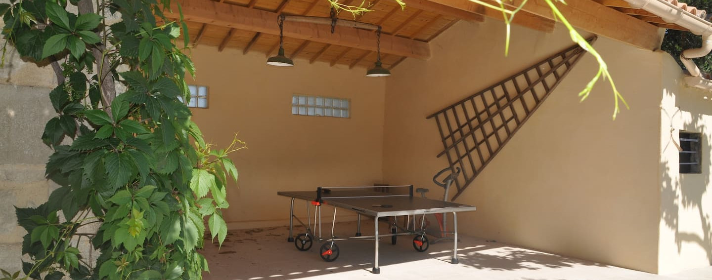 Gite ping-pong et baby-foot