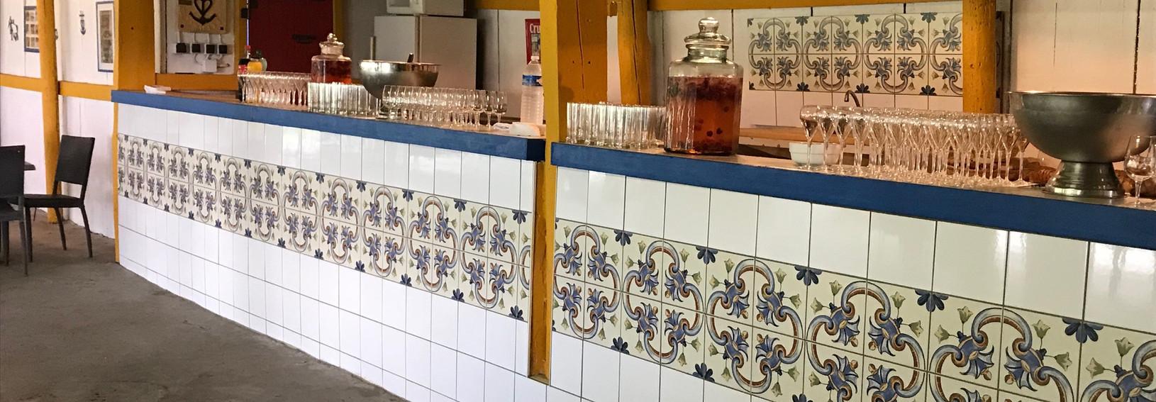 Bar sous la salle Loupio